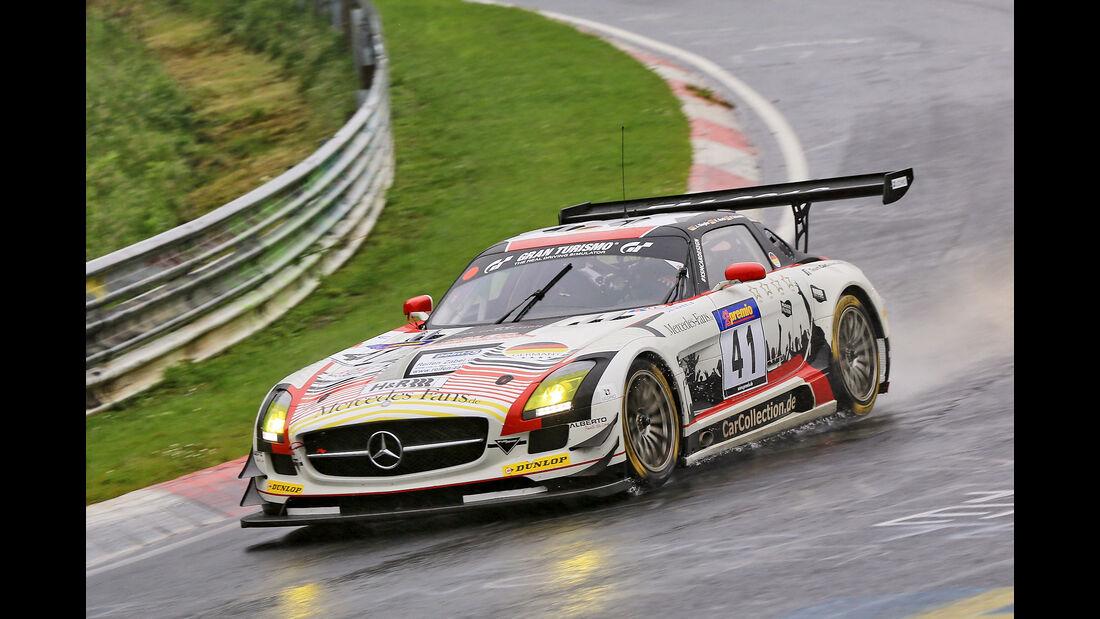 VLN - Nürburgring Nordschleife - Startnummer #41 - Mercedes-AMG GT3 - SP9