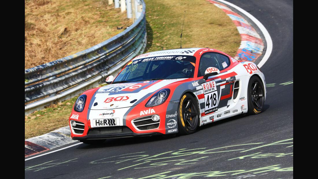 VLN - Nürburgring Nordschleife - Startnummer #418 - Porsche Cayman S - Team Securtal Sorg Rennsport - V6
