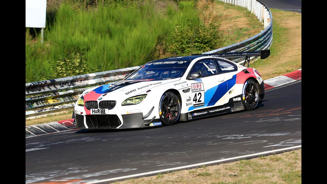 VLN - Nürburgring Nordschleife - Startnummer #42 - BMW M6 GT3 - BMW Team Schnitzer - SP9