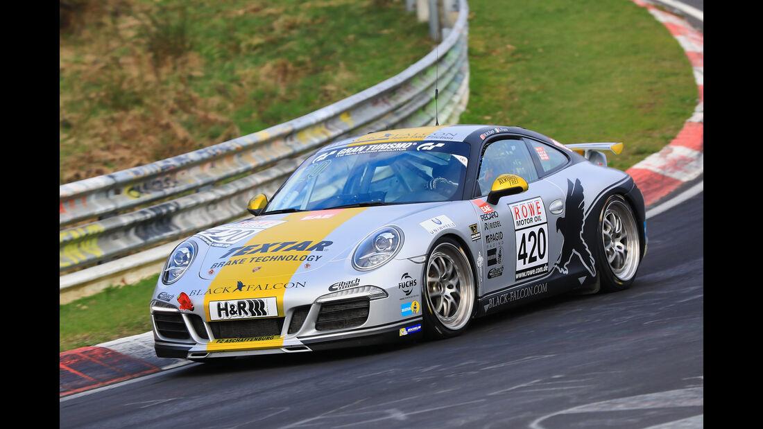 VLN - Nürburgring Nordschleife - Startnummer #420 - Porsche 911 Carrera - Black Falcon Team TMD Friction - V6