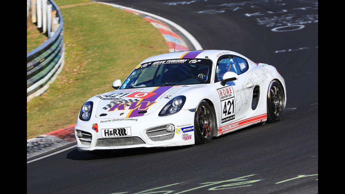 VLN - Nürburgring Nordschleife - Startnummer #421 - Porsche Cayman S - Team Mathol Racing e.V. - V6