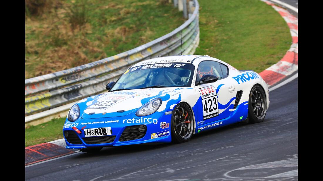VLN - Nürburgring Nordschleife - Startnummer #423 - Porsche Cayman R - Fanclub Mathol Racing e.V. - V6