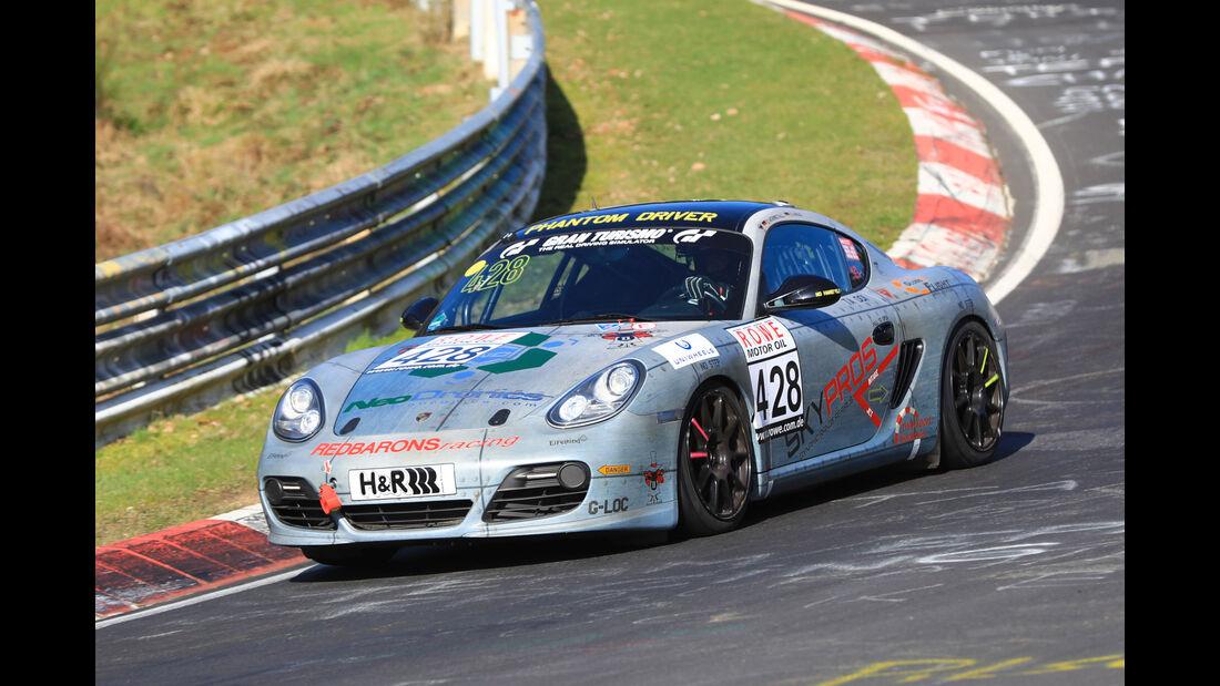 VLN - Nürburgring Nordschleife - Startnummer #428 - Porsche Cayman S - V6