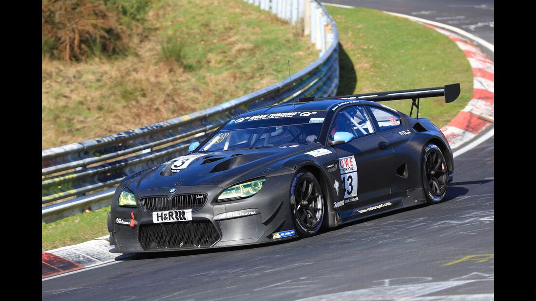 VLN - Nürburgring Nordschleife - Startnummer #43 - BMW M6 GT3 - BMW Team Schnitzer - SP9