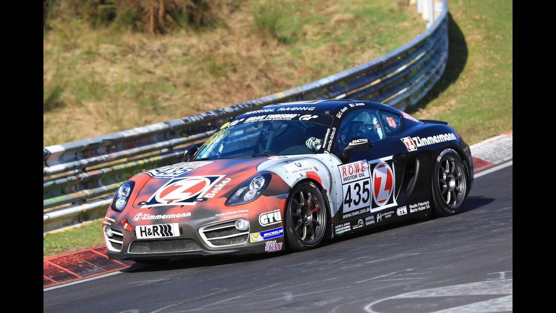 VLN - Nürburgring Nordschleife - Startnummer #435 - Porsche Cayman S - V6
