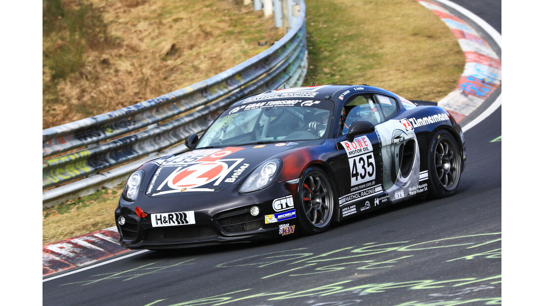 VLN - Nürburgring Nordschleife - Startnummer #435 - Porsche Cayman S - Zimmermann - Brake Parts - V6