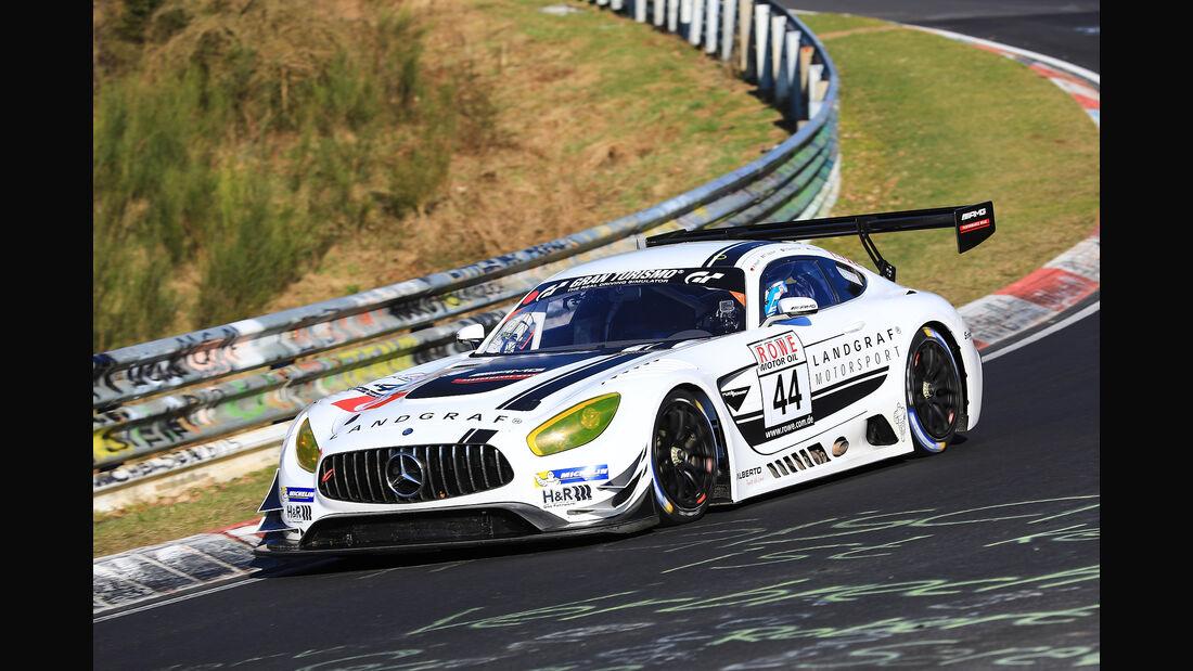 VLN - Nürburgring Nordschleife - Startnummer #44 - Mercedes-AMG GT3 - Landgraf Motorsport - SP9 PRO