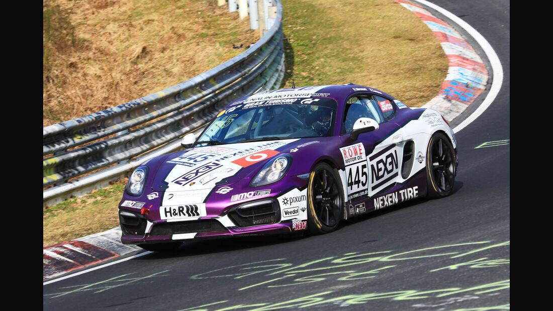 VLN - Nürburgring Nordschleife - Startnummer #445 - Porsche Cayman - Pixum Team Adrenalin Motorsport - V5