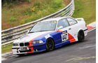 VLN - Nürburgring Nordschleife - Startnummer #447 - BMW E36 M3 - V5