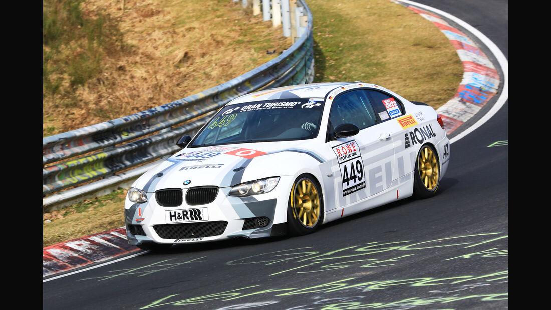 VLN - Nürburgring Nordschleife - Startnummer #449 - BMW E92 330i - Team Schirmer - V5