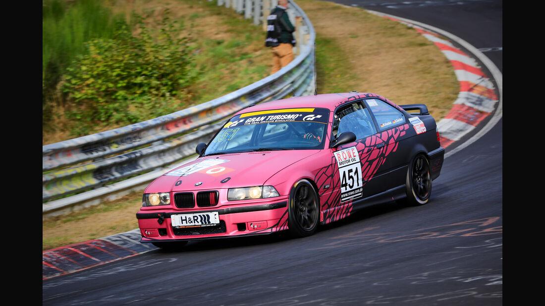 VLN - Nürburgring Nordschleife - Startnummer #451 - BMW E36 M3 - V5