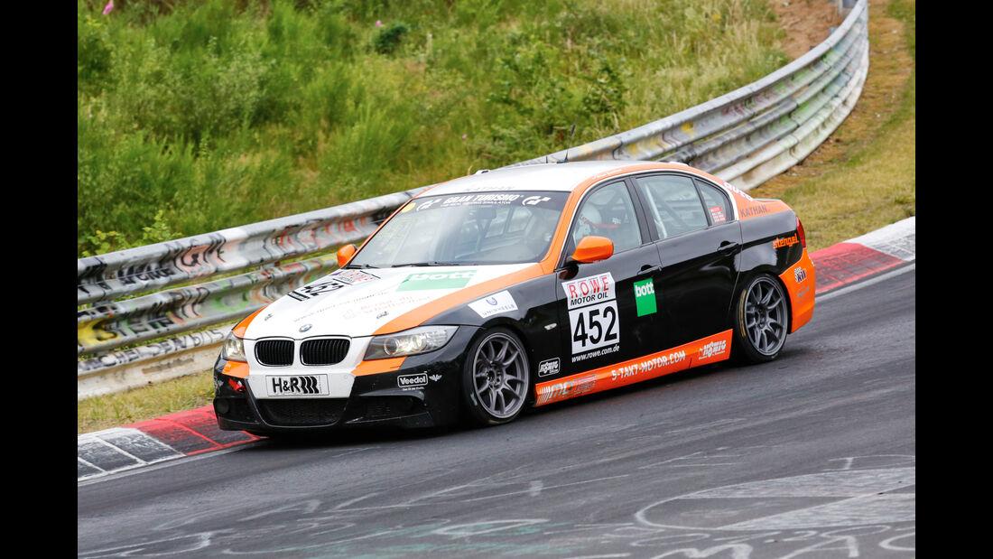 VLN - Nürburgring Nordschleife - Startnummer #452 - BMW 330i - V5
