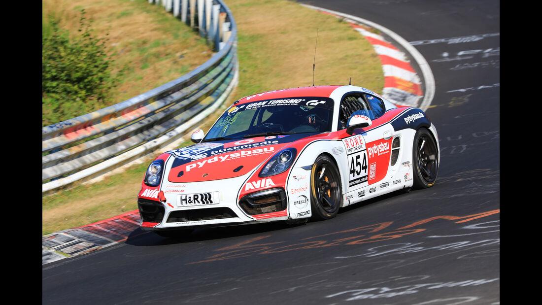 VLN - Nürburgring Nordschleife - Startnummer #454 - Porsche Cayman - Team Securtal Sorg Rennsport - V5
