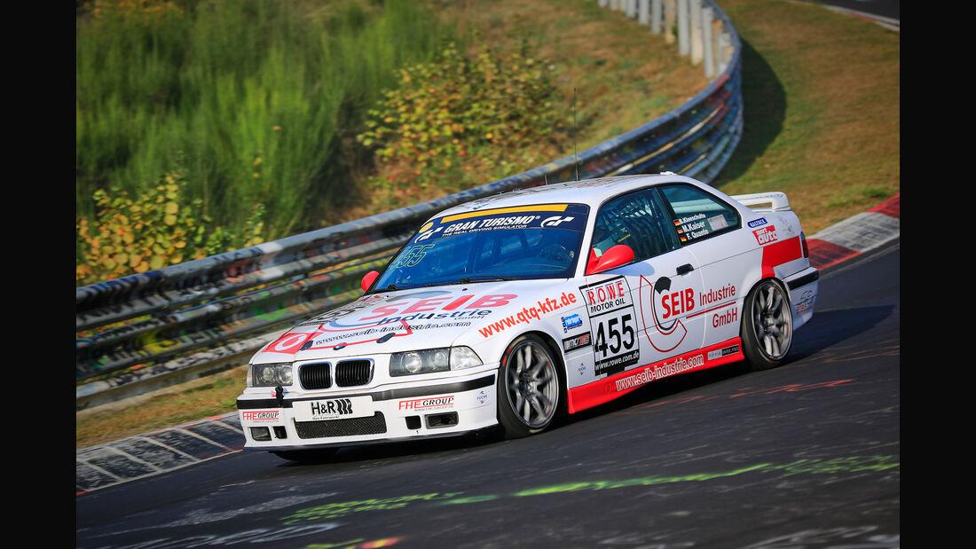 VLN - Nürburgring Nordschleife - Startnummer #455 - BMW E36 M3 - V5