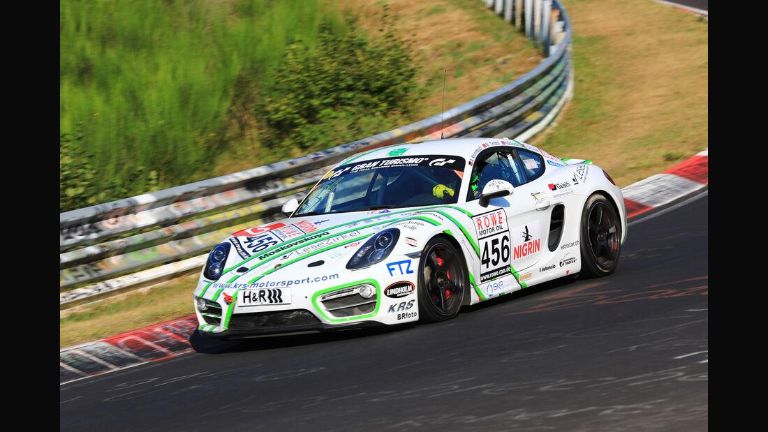 VLN - Nürburgring Nordschleife - Startnummer #456 - Porsche Cayman - V5