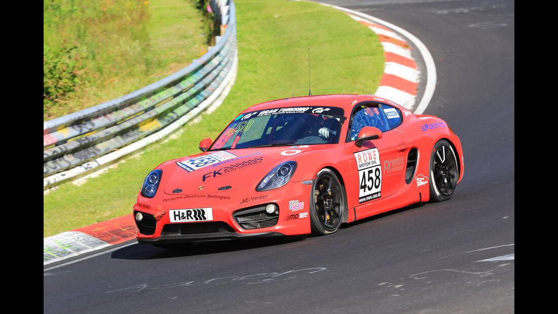 VLN - Nürburgring Nordschleife - Startnummer #458 - Porsche Cayman 981 - FK Performance Gbr - V5