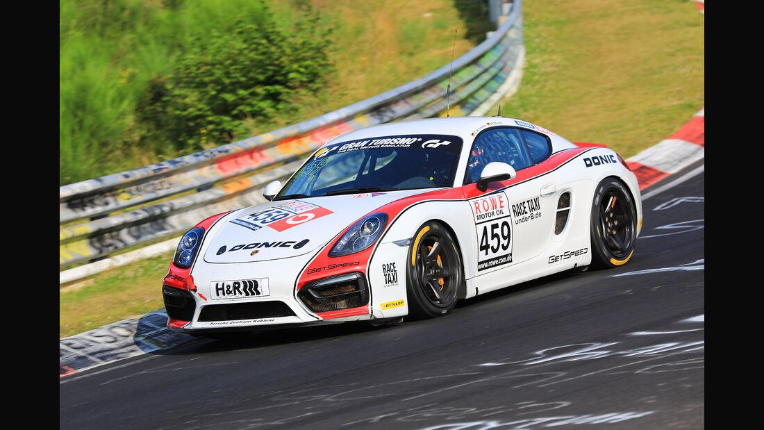 VLN - Nürburgring Nordschleife - Startnummer #459 - Porsche Cayman GT4 - GIGASPEED Team GetSpeed Performance - V5