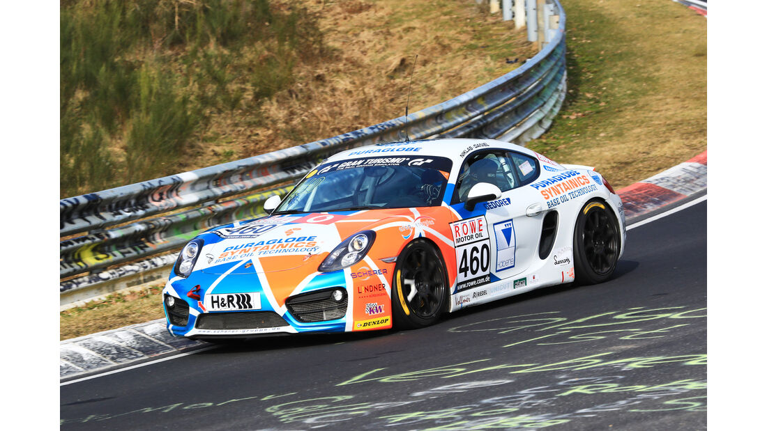 VLN - Nürburgring Nordschleife - Startnummer #460 - Porsche Cayman - Care for Climate - V5