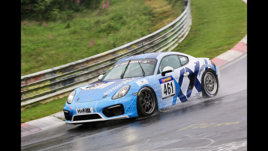 VLN - Nürburgring Nordschleife - Startnummer #461 - Porsche Cayman - V5