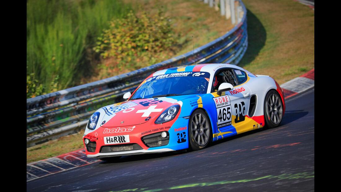 VLN - Nürburgring Nordschleife - Startnummer #465 - Porsche Cayman - PROsport-Performance GmbH - V5