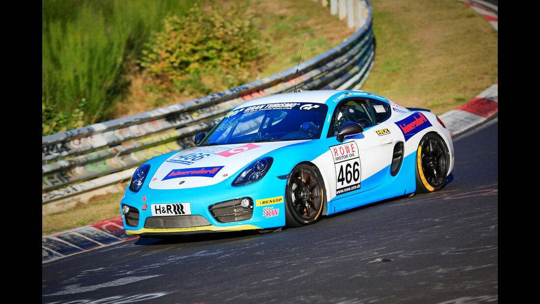 VLN - Nürburgring Nordschleife - Startnummer #466 Porsche Cayman - V5