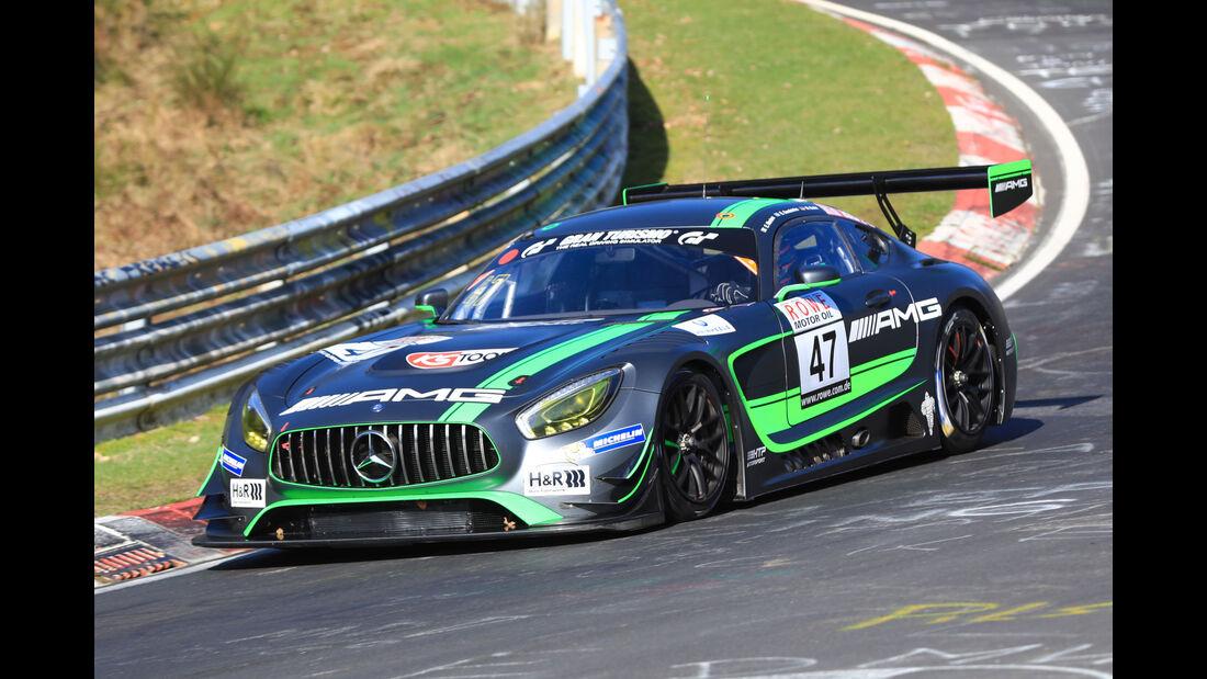 VLN - Nürburgring Nordschleife - Startnummer #47 - Mercedes AMG GT3 - AMG Team HTP Motorsport - SP9
