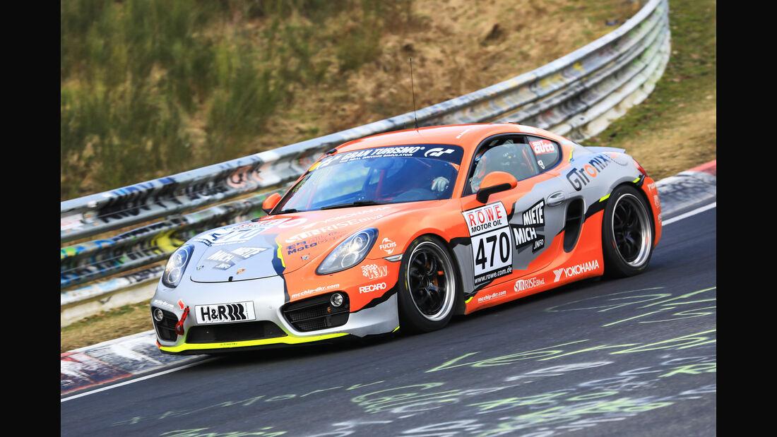 VLN - Nürburgring Nordschleife - Startnummer #470 - Porsche Cayman - V5