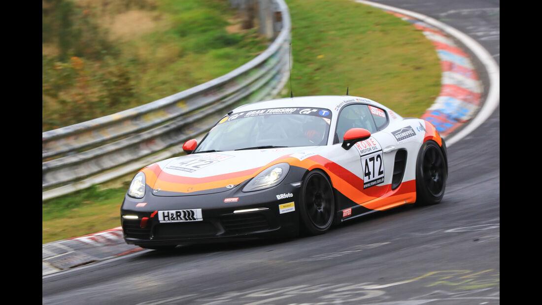 VLN - Nürburgring Nordschleife - Startnummer #472 - Porsche Cayman S - MSC Münster e.V. DMV - VT3