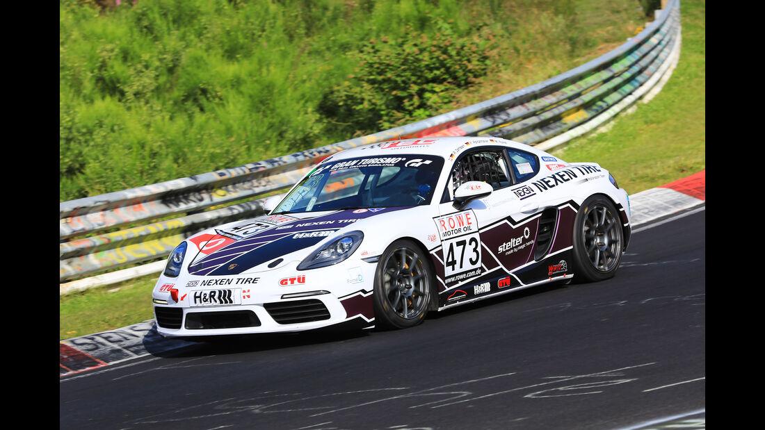 VLN - Nürburgring Nordschleife - Startnummer #473 - Porsche Cayman 718 - VT3