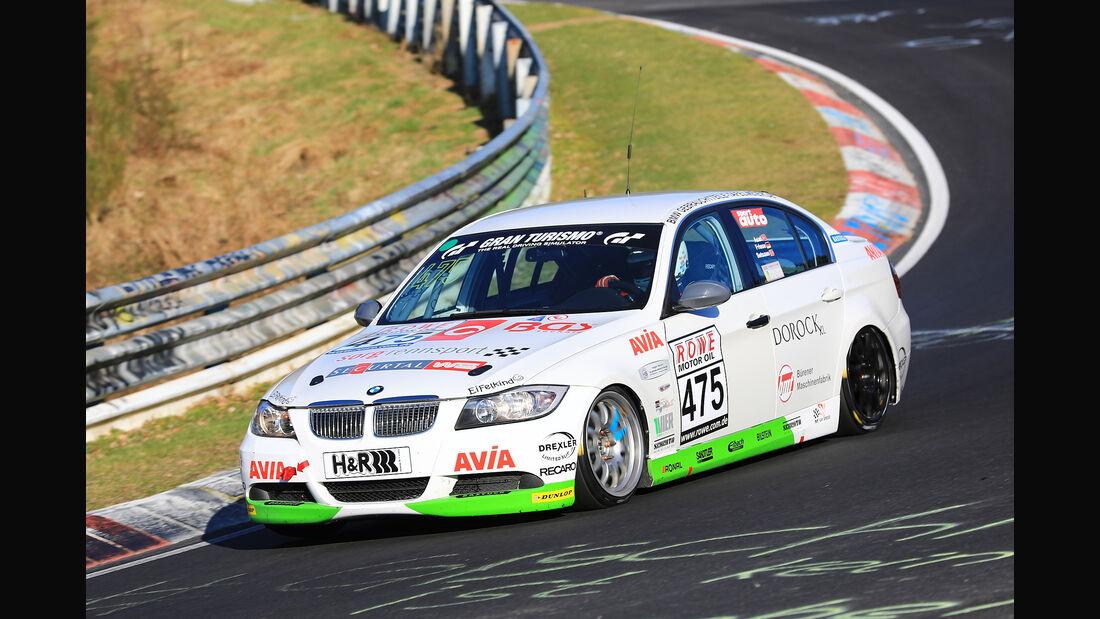 VLN - Nürburgring Nordschleife - Startnummer #475 - BMW 325i E90 - Team Securtal Sorg Rennsport - V4