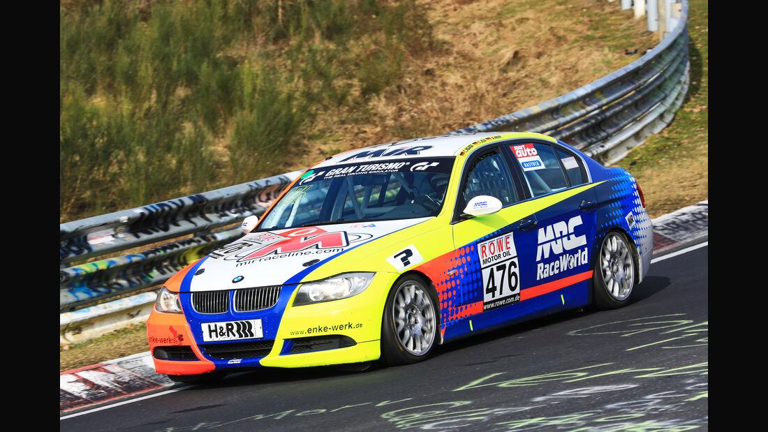 VLN - Nürburgring Nordschleife - Startnummer #476 - BMW 325i E90 - V4