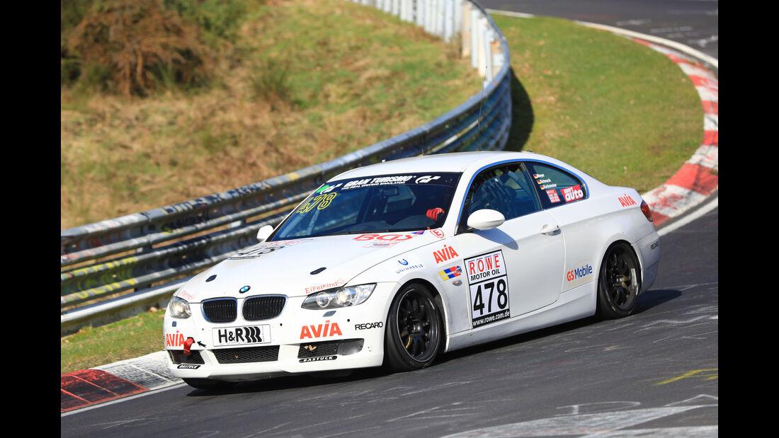 VLN - Nürburgring Nordschleife - Startnummer #478 - BMW 325i - Team Securtal Sorg Rennsport - V4