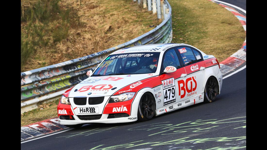 VLN - Nürburgring Nordschleife - Startnummer #479 - BMW 325i E90 - Team Securtal Sorg Rennsport - V4