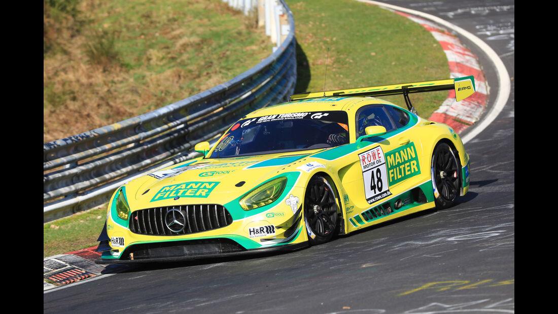 VLN - Nürburgring Nordschleife - Startnummer #48 - Mercedes AMG GT3 - Mann-Filter Team HTP Motorsport - SP9