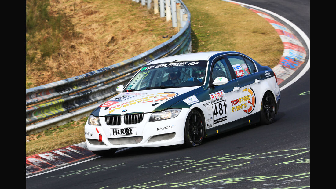 VLN - Nürburgring Nordschleife - Startnummer #481 - BMW 325i E90 - MSC Adenau e. V. im ADAC - V4