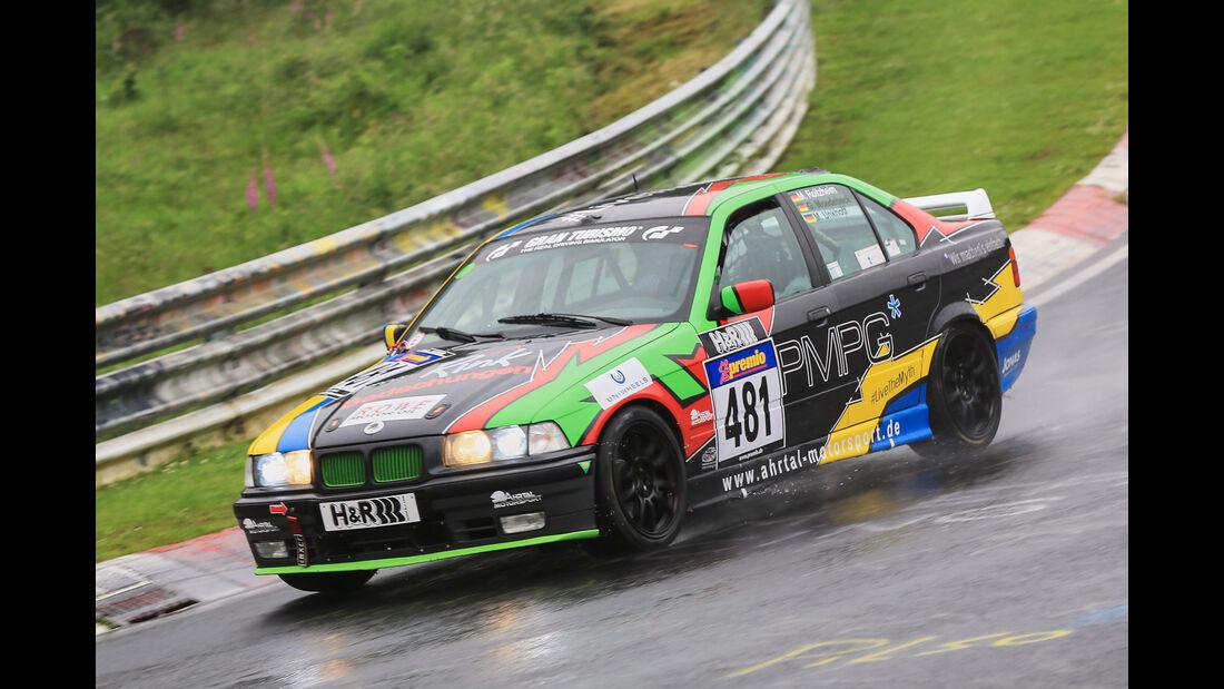 VLN - Nürburgring Nordschleife - Startnummer #481 - BMW E36 325i - V4