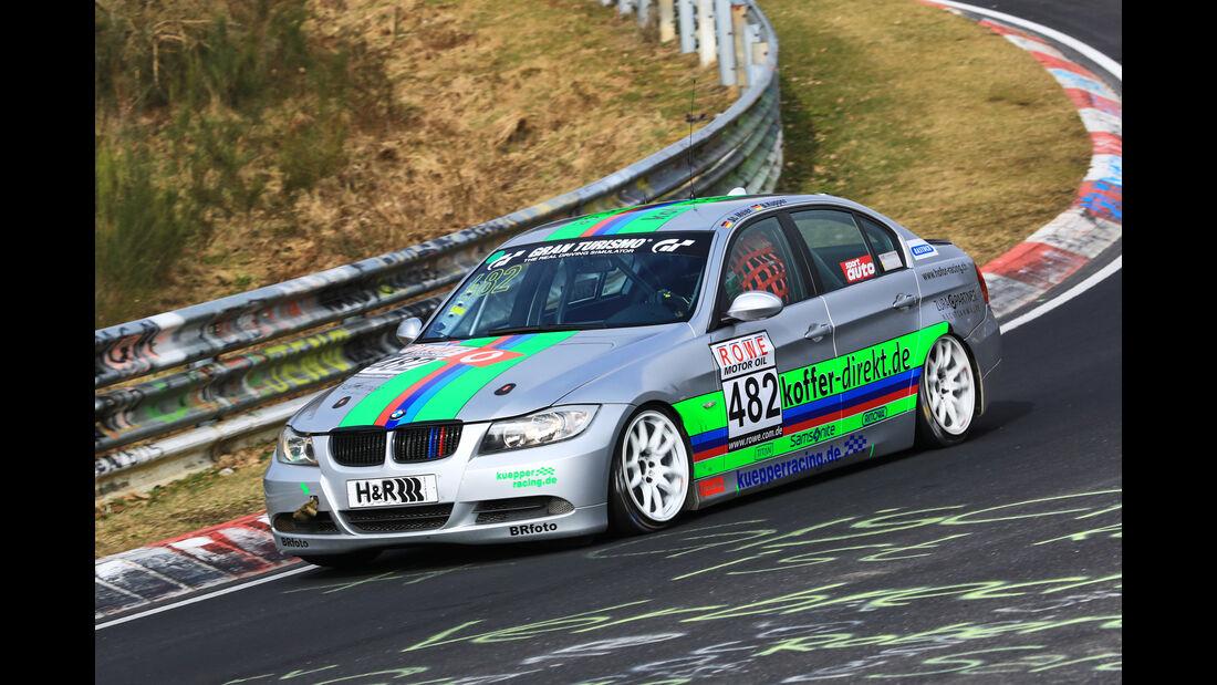 VLN - Nürburgring Nordschleife - Startnummer #482 - BMW 325i E90 - Hofor - Racing - V4