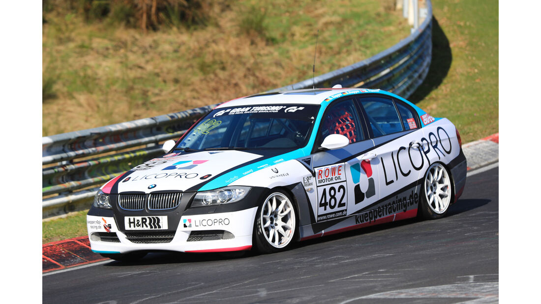 VLN - Nürburgring Nordschleife - Startnummer #482 - BMW 325i - Hofer Racing - V4