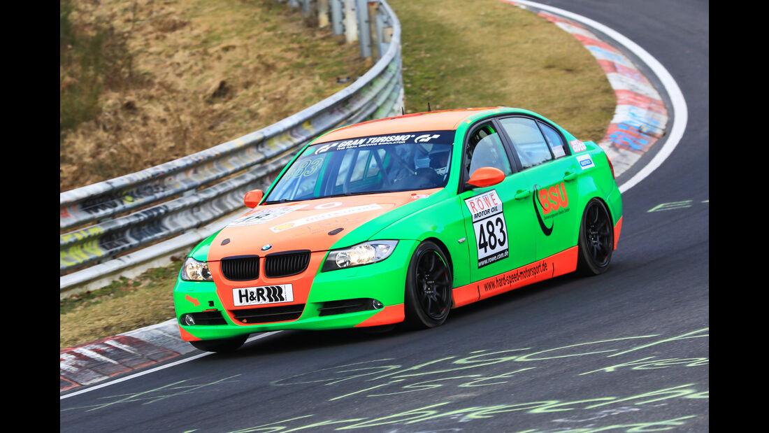 VLN - Nürburgring Nordschleife - Startnummer #483 - BMW 325i E90 - V4