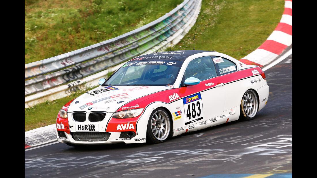 VLN - Nürburgring Nordschleife - Startnummer #483 - BMW 325i - V4