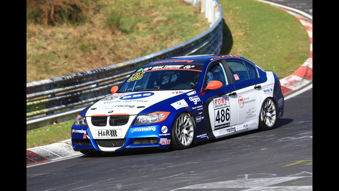 VLN - Nürburgring Nordschleife - Startnummer #486 - BMW 325i - Fun Motorsport GmbH & Co KG - V4