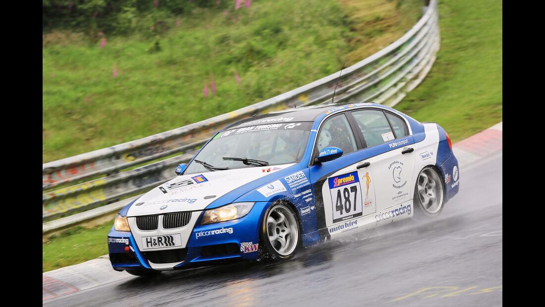 VLN - Nürburgring Nordschleife - Startnummer #487 - BMW 3er E 90 - V4