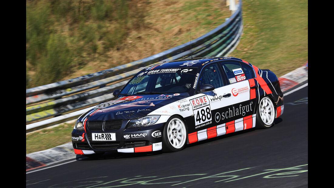 VLN - Nürburgring Nordschleife - Startnummer #488 - BMW 325i E90 - V4