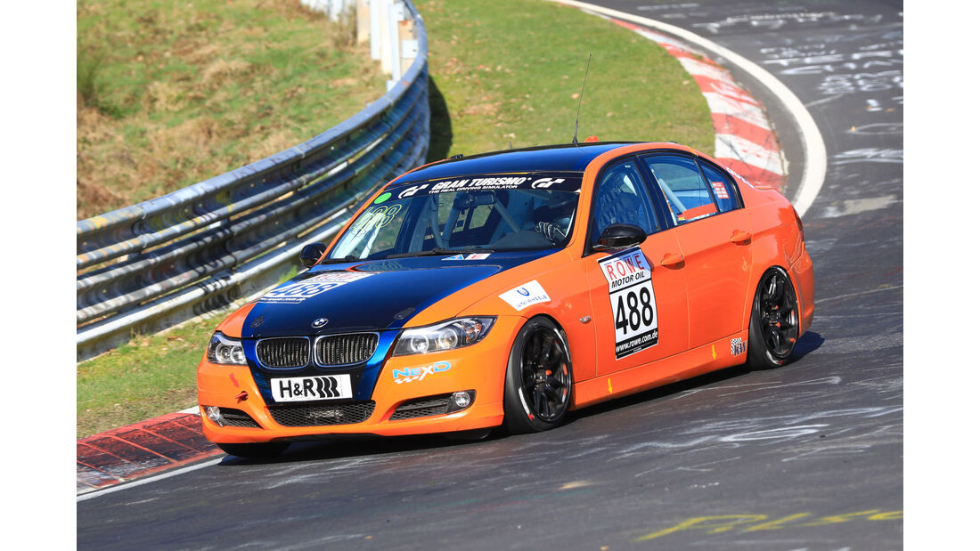 VLN - Nürburgring Nordschleife - Startnummer #488 - BMW 325i - MSC Adenau e. V. im ADAC - V4
