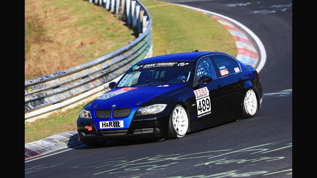 VLN - Nürburgring Nordschleife - Startnummer #489 - BMW 325i E90 - ADAC Mittelrhein e. V. - V4
