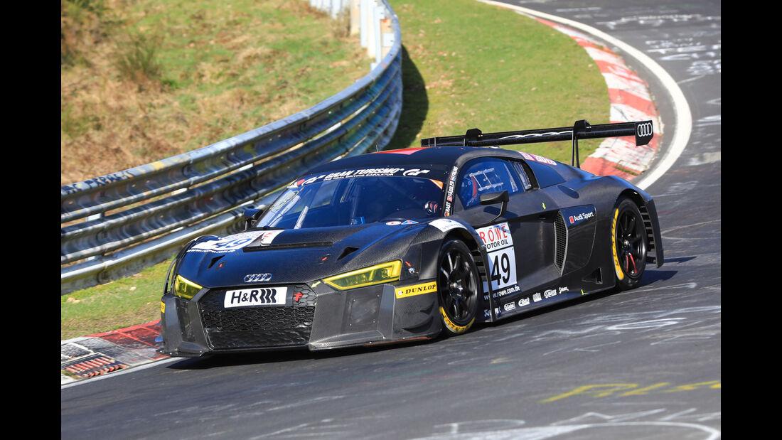 VLN - Nürburgring Nordschleife - Startnummer #49 - Audi R8 LMS - Audi Sport Team WRT - SP9
