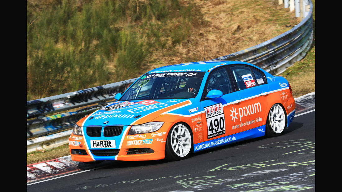 VLN - Nürburgring Nordschleife - Startnummer #490 - BMW 325i E90 - Pixum Team Adrenalin Motorsport - V4