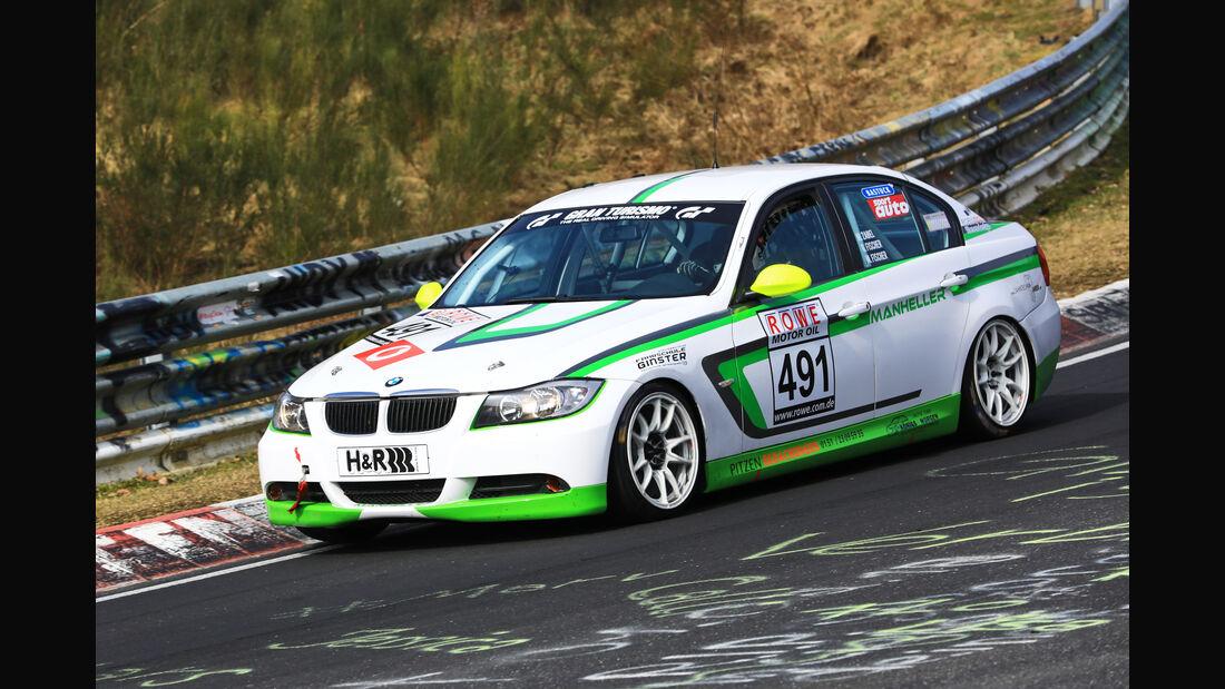 VLN - Nürburgring Nordschleife - Startnummer #491 - BMW 325i E90 - Manheller Racing - V4