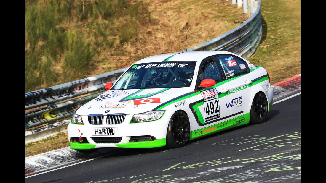 VLN - Nürburgring Nordschleife - Startnummer #492 - BMW 325i E90 - Manheller Racing - V4