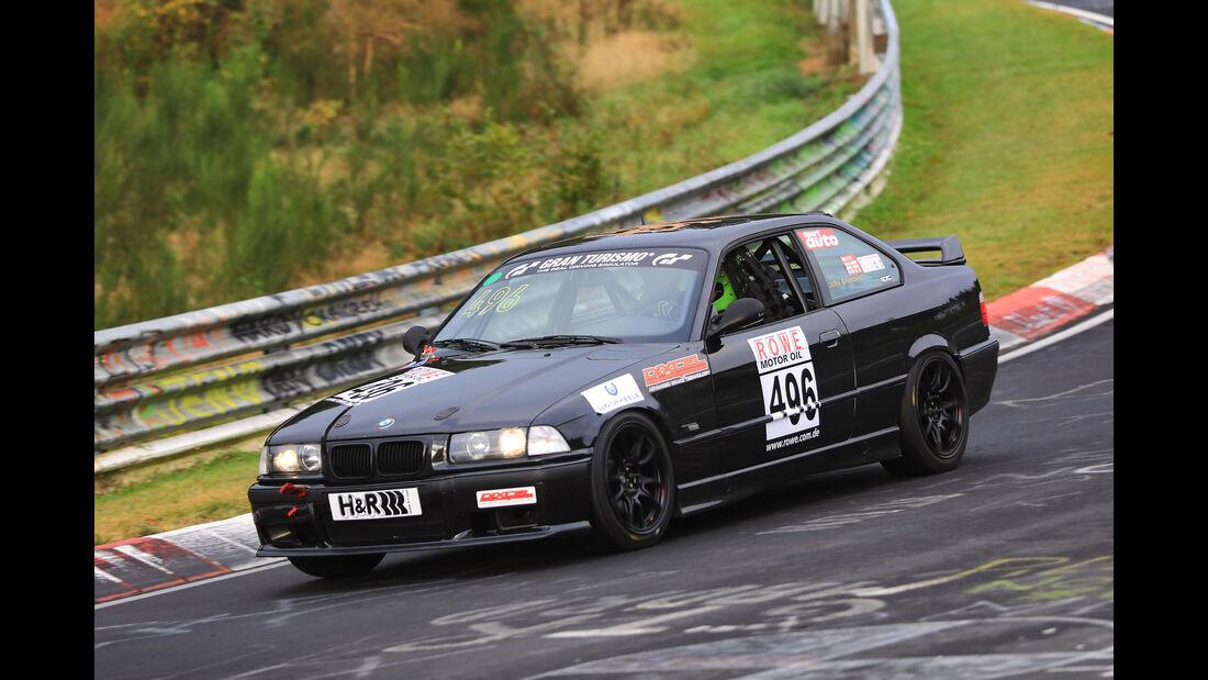 VLN - Nürburgring Nordschleife - Startnummer #496 - BMW E36 325 - V4